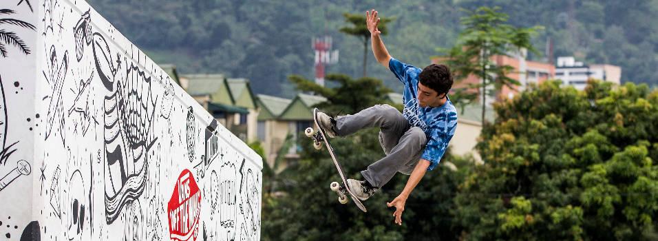 El skater envigadeño que está a un salto de los Olímpicos