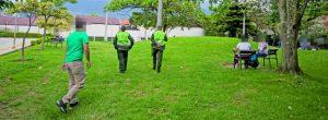 Consumen drogas en zona verde del Parque Biblioteca Belén