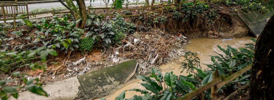 Quebrada Ana Díaz, riesgo en cuenta regresiva