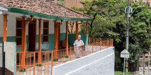 La casona que sobrevive en Los Benedictinos