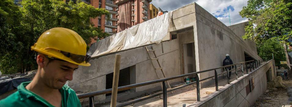 Así avanzan las obras del parque cultural Otraparte