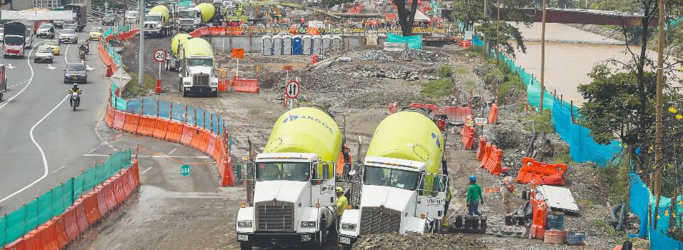 Así van las obras en la etapa 1B de Parques del Río