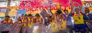 Las niñas del Manyanet, campeonas en la Copa Nosotras