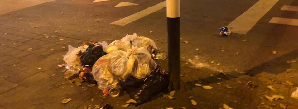Mal manejo de basuras se evidencia en la calle Colombia