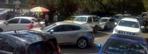 Vecino se queja del caos vial en La Salle de Envigado