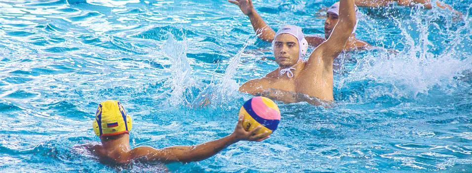 Waterpolista del Club Belén, subcampeón en los Suramericanos
