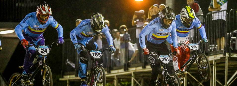 Colombia brilló en el Panamericano de BMX