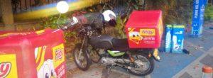 Denuncian parqueo de motos en estación de Encicla