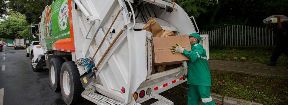 Ruta de reciclaje en El Poblado está lejos de su meta