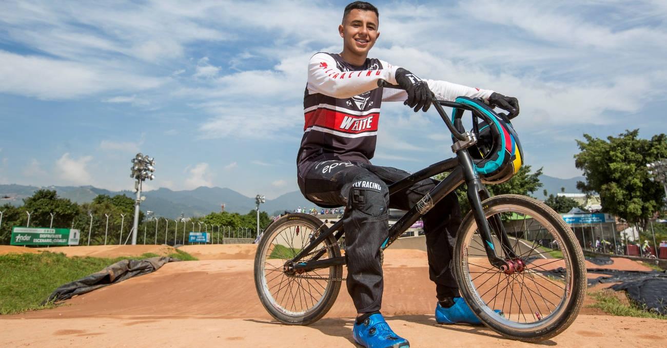 Santiago, entre los 5 mejores del BMX mundial