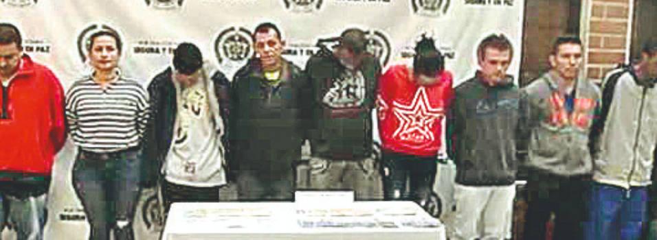 12 detenidos dejó operación en contra de la odín El Trianón