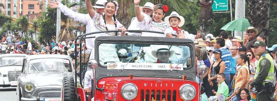 Camperos, protagonistas del Desfile de Autos Clásicos y antiguos