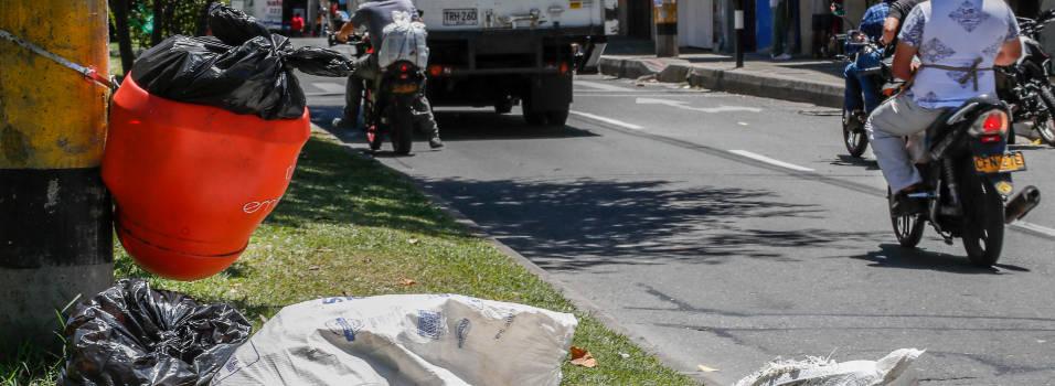 Canastillas de basura, dónde las ponen y por qué