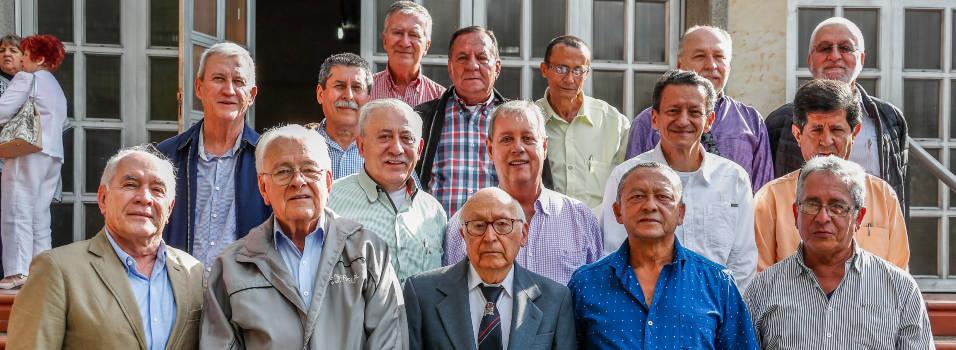 Egresados de La Salle se reencontraron 50 años después