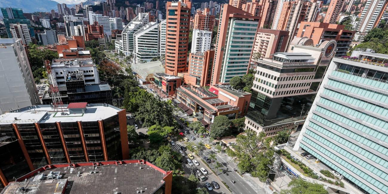 El 15 % de las empresas de Medellín están en El Poblado