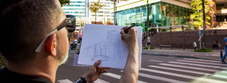 El Poblado visto por los dibujantes de Urban Sketchers