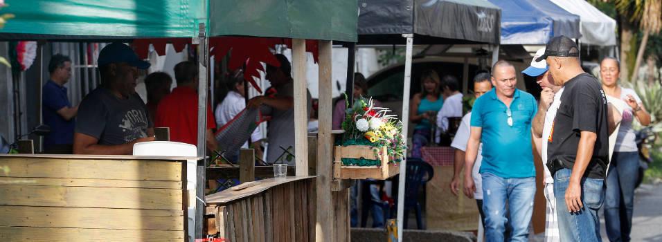Fondas de mi Barrio, el evento de feria en el que no se puede vender nada