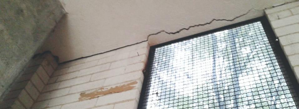 Preocupa el deterioro del colegio Ramón Giraldo Ceballos