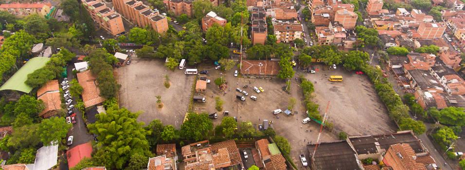 Terminal de buses de El Dorado, de parqueadero a pulmón verde
