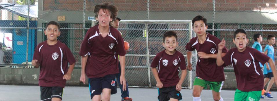 Así va rodando el balón en los Juegos Escolares de Envigado