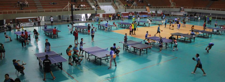 Con éxito se cumplió el departamental de tenis de mesa en Envigado