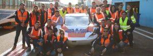 El carro electrosolar de Eafit fue el más rápido en Europa