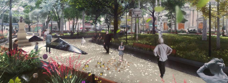 El parque de Belén estaría remodelado en 6 meses