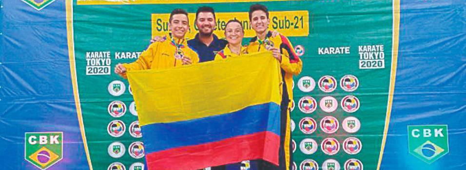 Karatecas envigadeños ganaron bronce en Panamericano