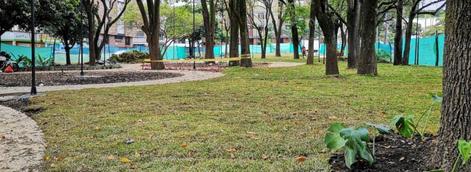 Va tomando forma el parque aledaño a la Débora Arango