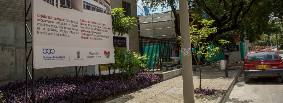 Vecino propone sembrar un árbol en la Biblioteca Pública Piloto