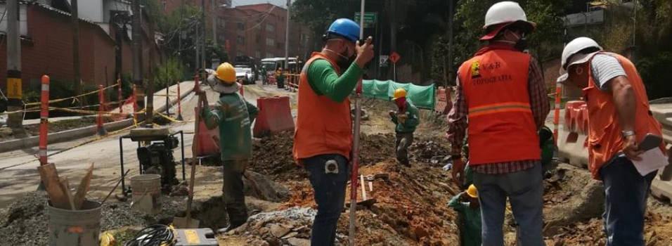 Vecinos, preocupados por el caos que generan obras en El Escobero