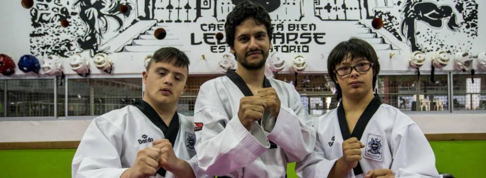 De Chile trajeron sus medallas de parataekwondo