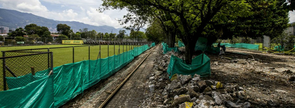 En un 42 % avanzan las obras en el complejo deportivo de Belén
