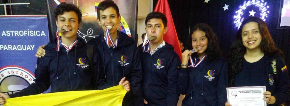 Envigadeños brillaron en las Olimpiadas Latinoamericanas de Astronomía