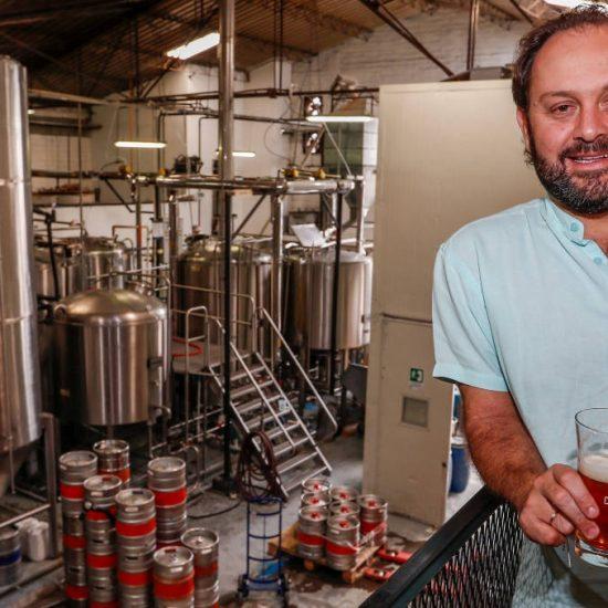 Juanchi trajo a Medellín la cerveza artesanal
