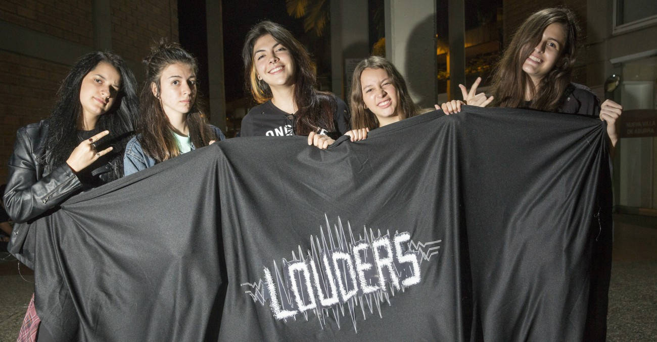 Louders, la fuerza femenina del rock local