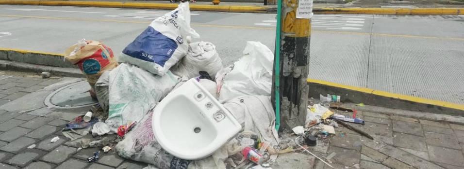 No cesa el problema de basuras en Belén Los Alpes