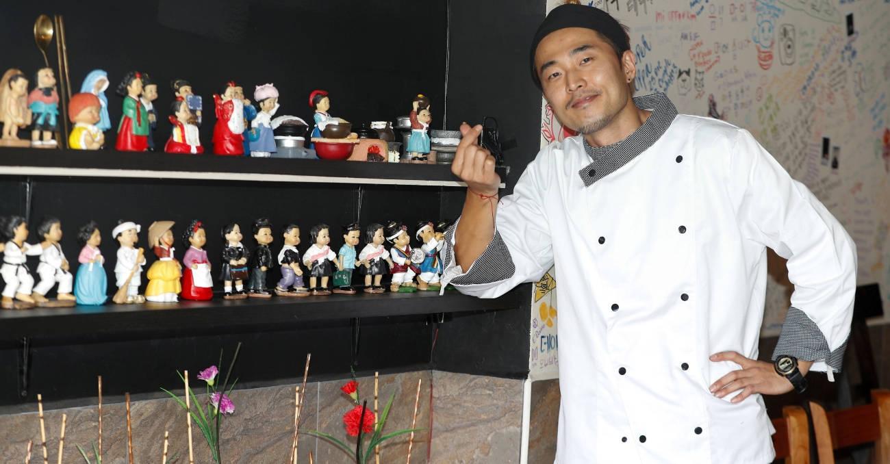 Sangmin cocina un sueño a 14.600 kilómetros de casa