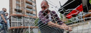 Vecino de Bolivariana instaló rejas contra las ratas