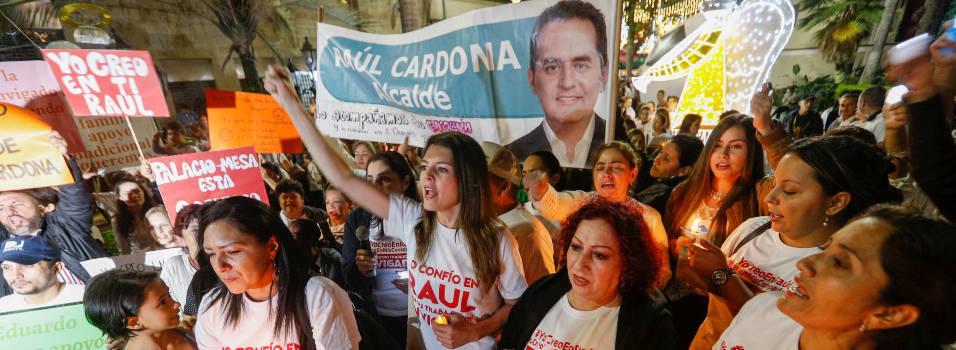 Con marcha mostraron su apoyo al alcalde de Envigado