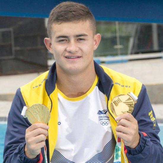 Daniel se trajo 2 oros de los Olímpicos de la Juventud