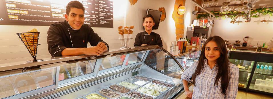 En El Poblado se consiguen helados de de brócoli o remolacha