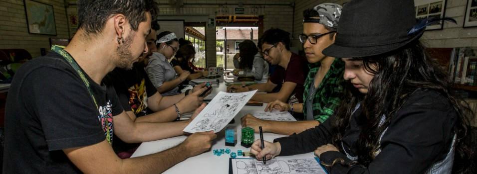 Mangakas, el club de cómic japonés del Parque Biblioteca de Belén