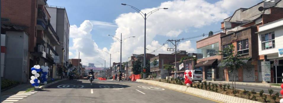 Mil millones de pesos costó terminar las obras del metroplús en Envigado