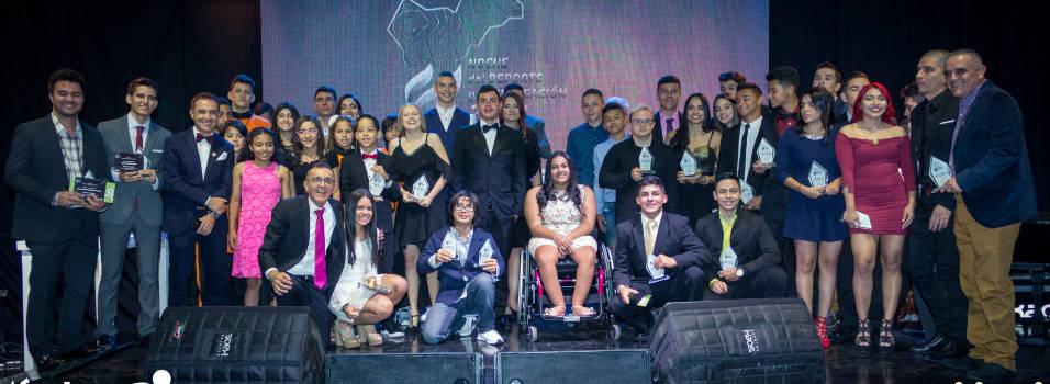Envigado reconoció a los mejores del deporte