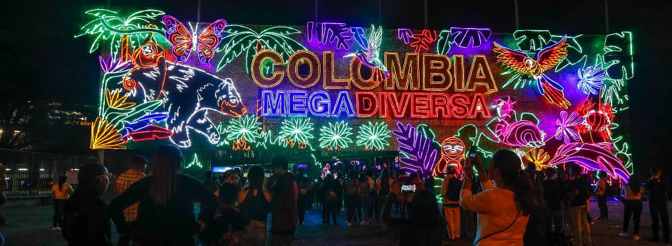 FOTOS: Alumbrados de Medellín rinden homenaje a la naturaleza