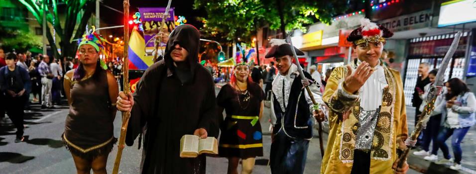 FOTOS: Así fue la 10° versión del Desfile de Mitos y Leyendas de Belén