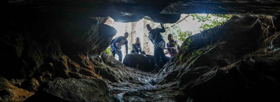 Las cuevas del Higuerón, un tesoro en la montaña de Envigado