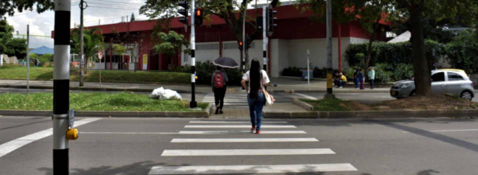 Nuevo semáforo peatonal en la avenida Nutibara