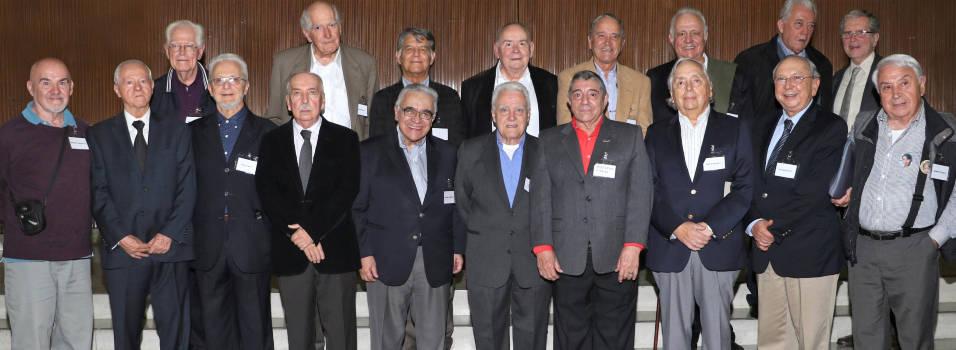 Promoción del 58 del San Ignacio celebró su aniversario 60